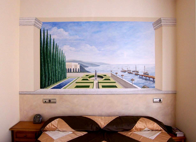 Trampantojos graciab pintura mural y decorativa - Pared decorada con fotos ...