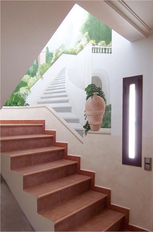 Tiro de escalera